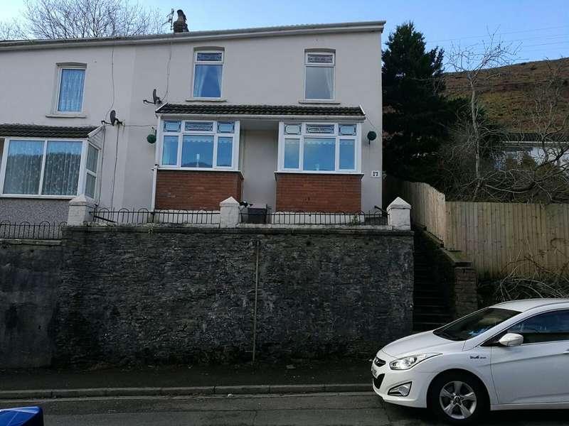 3 Bedrooms Semi Detached House for sale in Vale View Villas, Ogmore Vale, Bridgend
