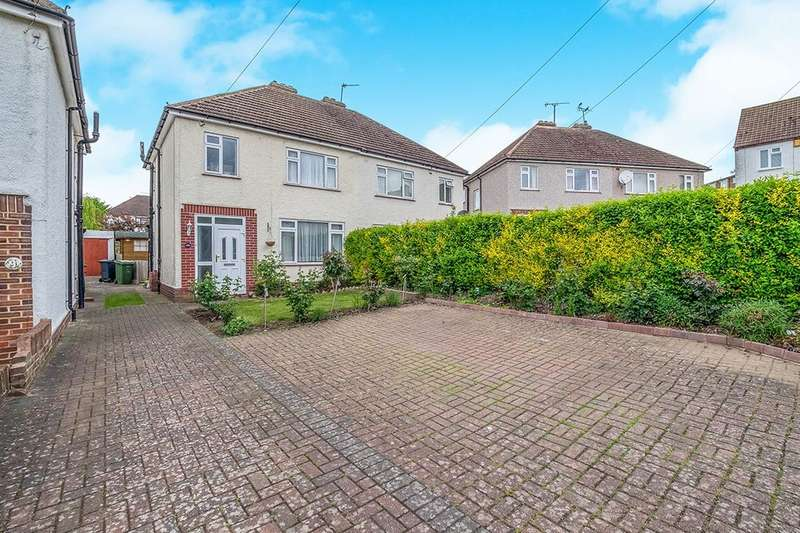 3 Bedrooms Semi Detached House for rent in Wolfe Road, Maidstone, ME16