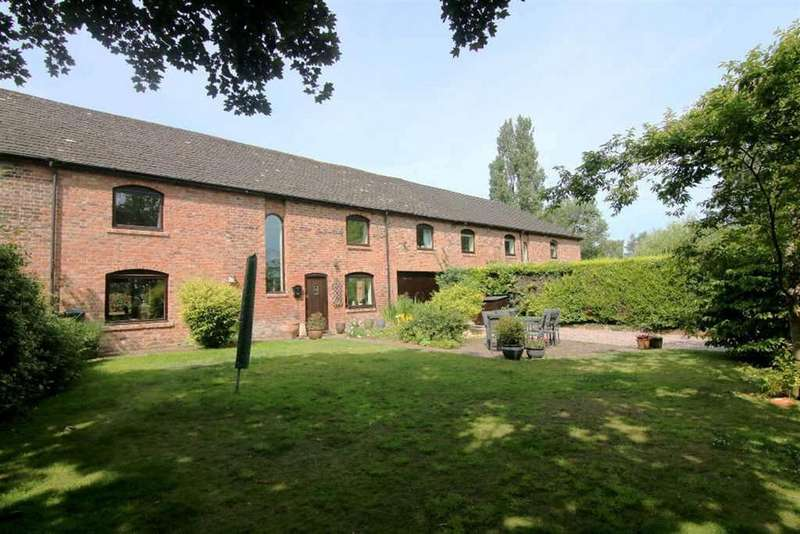 4 Bedrooms Barn Conversion Character Property for sale in The Stables, Guilden Sutton