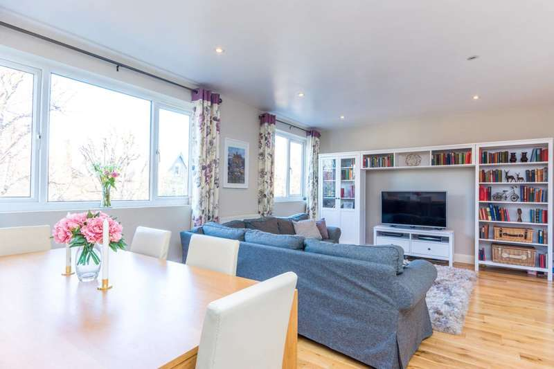 3 Bedrooms Flat for sale in Avenue Crescent, Acton, W3