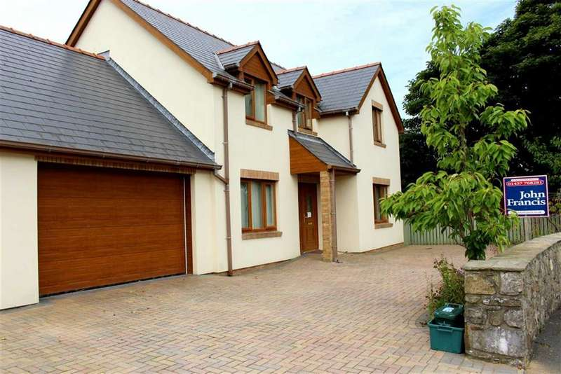 4 Bedrooms Detached House for sale in The Crescent, Johnston, Haverfordwest