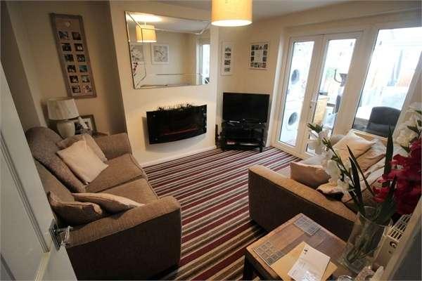 2 Bedrooms Maisonette Flat for sale in Dudley Close, Tilehurst, READING, Berkshire