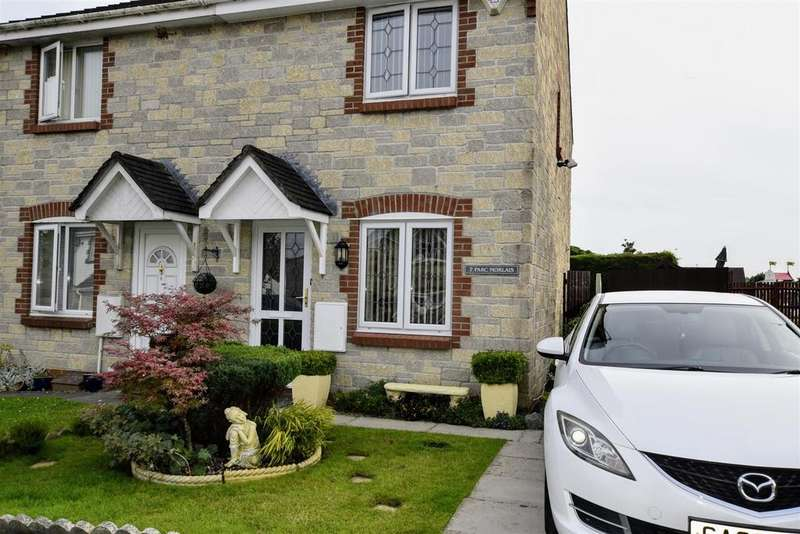 2 Bedrooms Semi Detached House for sale in Parc Morlais, Llangennech, Llanelli