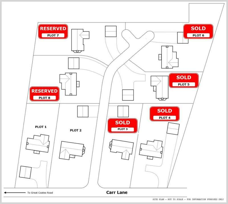 Property for sale in PLOT 1, CARR LANE, HEALING, DN41 7QR