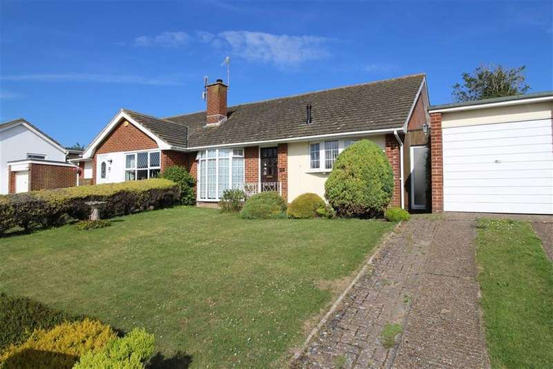 2 Bedrooms Semi Detached Bungalow for sale in Lynchets Crescent, Hove, East Sussex