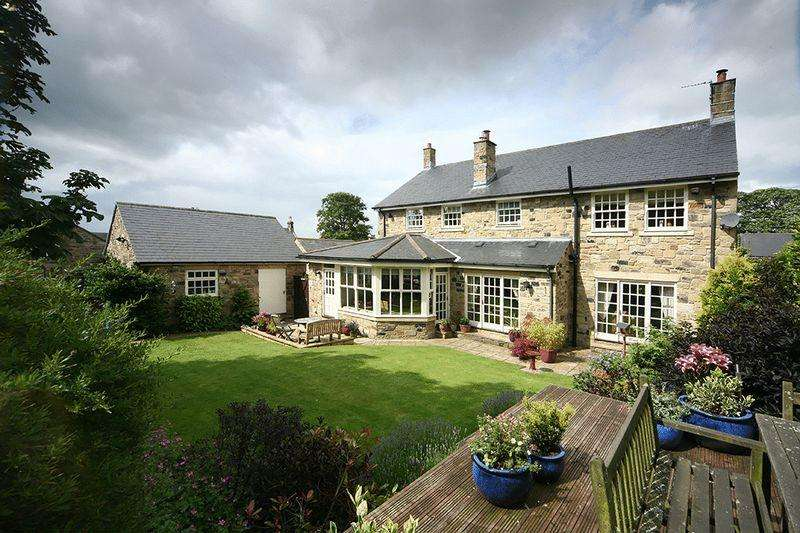 4 Bedrooms Detached House for sale in Rothley House, Lynn Law Farm, Whalton, Morpeth