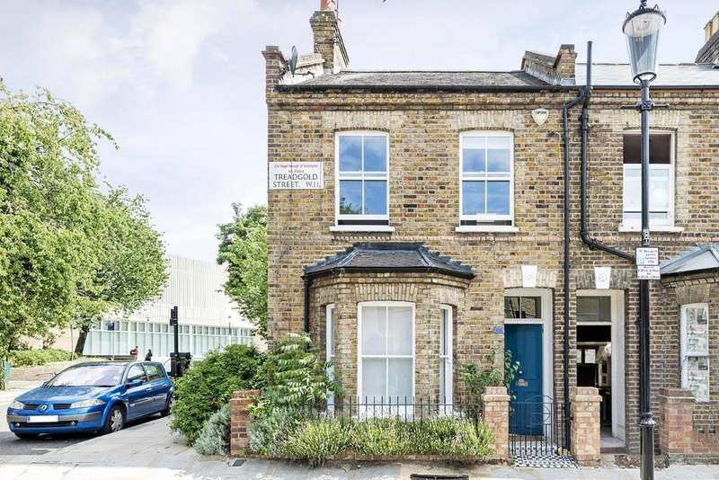 3 Bedrooms Terraced House for sale in Treadgold Street, North Kensington