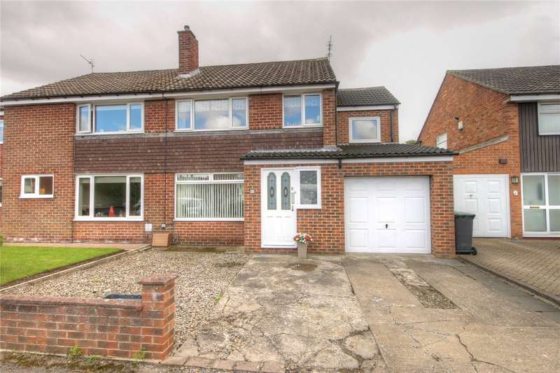 4 Bedrooms Semi Detached House for sale in Richmond Avenue, Bishop Auckland, Co Durham, DL14