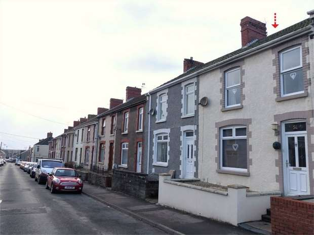 3 Bedrooms Terraced House for sale in Pwllygath Street, Kenfig Hill, Bridgend, Mid Glamorgan