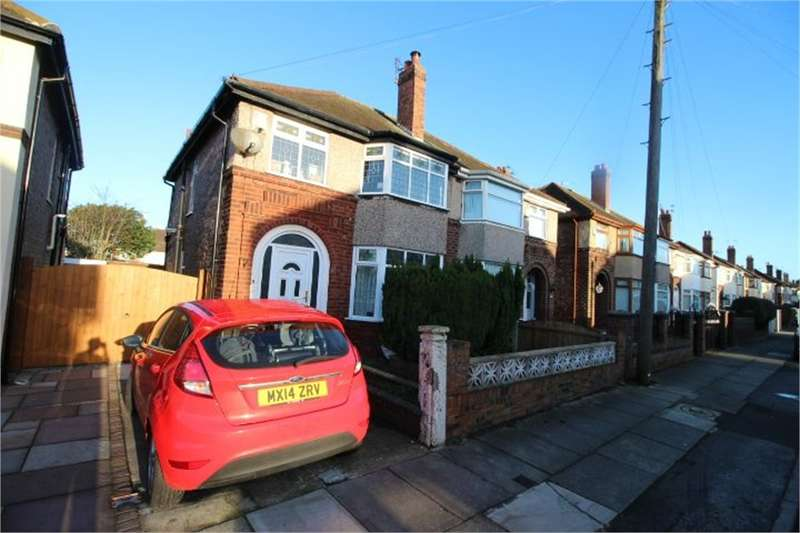 3 Bedrooms Semi Detached House for sale in Spooner Avenue, LIVERPOOL, Merseyside