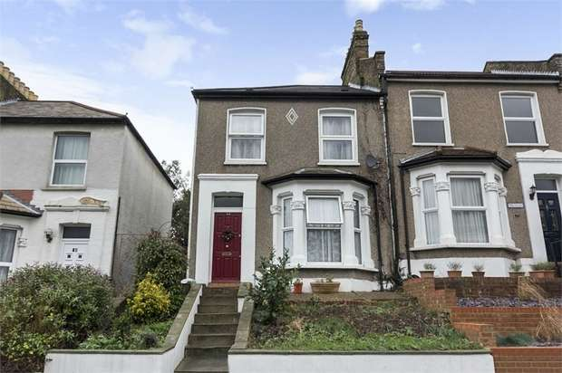 3 Bedrooms End Of Terrace House for sale in Braidwood Road, London