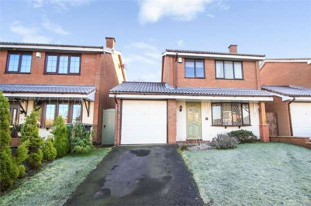 3 Bedrooms Detached House for sale in Hornet Way, The Rock, Telford, Shropshire