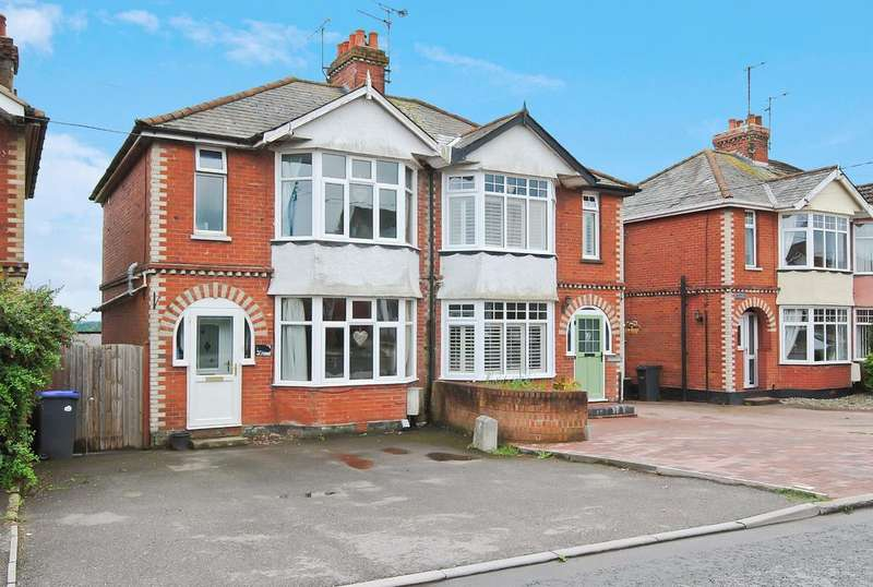 3 Bedrooms Semi Detached House for sale in Larkhill Road, Durrington, Salisbury, SP4 8BJ.