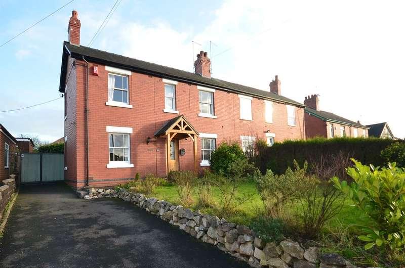 3 Bedrooms Semi Detached House for sale in **NEW** Dilhorne Road, Forsbrook, ST11 9DJ