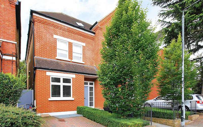 5 Bedrooms Semi Detached House for sale in Vicarage Road, Hampton Wick, KT1