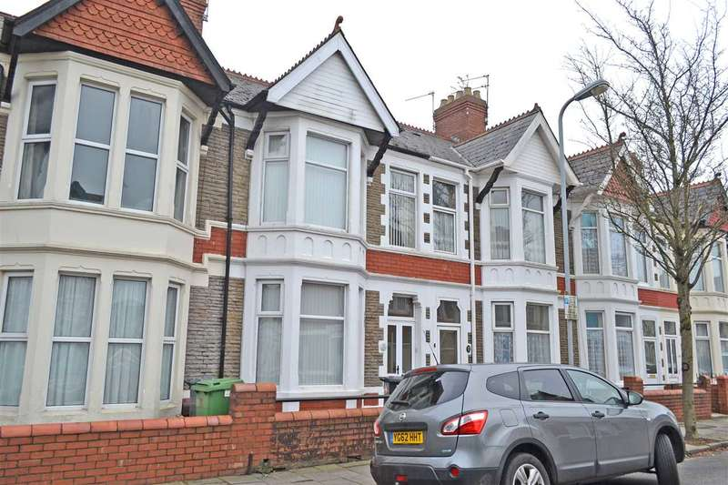 3 Bedrooms Terraced House for sale in NEWFOUNDLAND ROAD, HEATH/GABALFA, CARDIFF