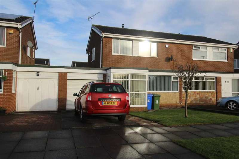 3 Bedrooms Semi Detached House for sale in Windburgh Drive, Southfield Lea, Cramlington