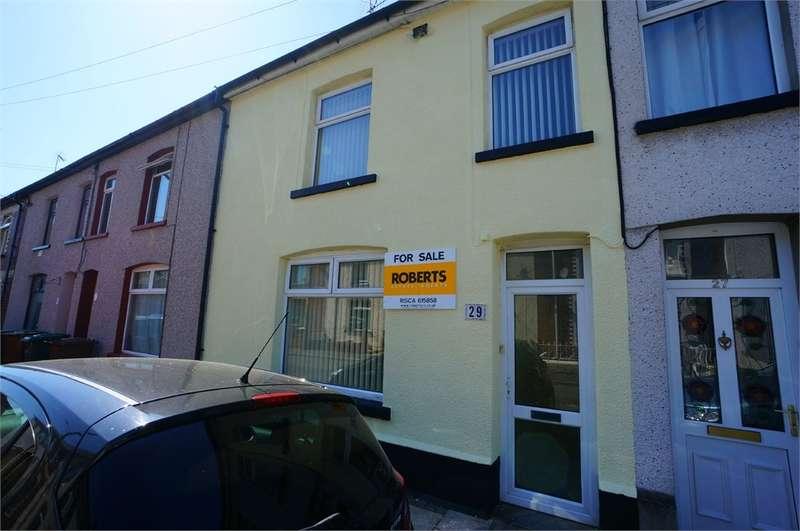 3 Bedrooms Terraced House for sale in Trafalgar Street, Risca, NEWPORT, NP11