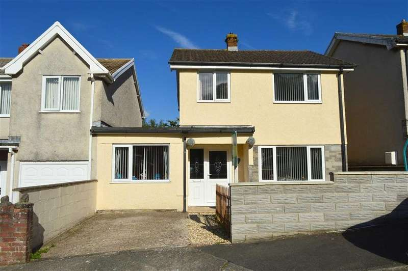 3 Bedrooms Link Detached House for sale in Nurses Corner, Penclawdd, Swansea