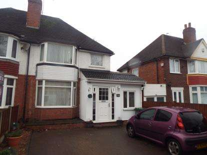 2 Bedrooms Semi Detached House for sale in Shirley Road, Hall Green