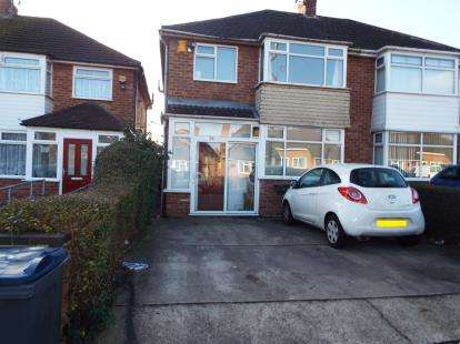 3 Bedrooms Semi Detached House for sale in Elmstead Avenue, Birmingham, West Midlands
