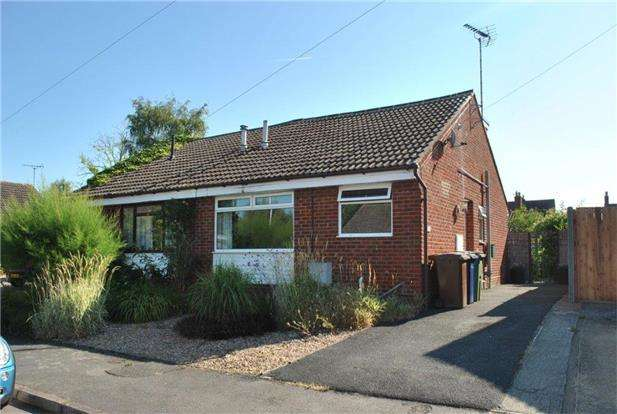 3 Bedrooms Semi Detached Bungalow for sale in Canterbury Leys, TEWKESBURY, Gloucestershire, GL20 8BP