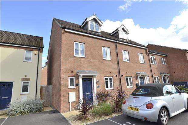 4 Bedrooms End Of Terrace House for sale in Tatenhill Close, Kingsway, Gloucester, GL2 2GX