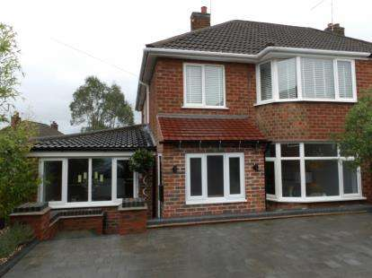 4 Bedrooms Semi Detached House for sale in Denegate Avenue, Birstall, Leicester, Leicestershire