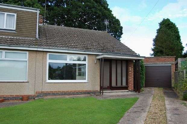 2 Bedrooms Semi Detached Bungalow for rent in Arnsby Crescent, Moulton, Northampton NN3 7SL