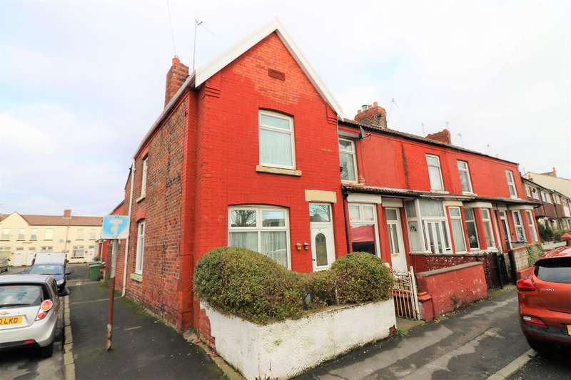 2 Bedrooms End Of Terrace House for sale in Urmson Road, Wallasey, CH45 7LF