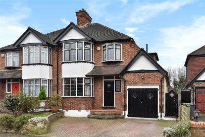 3 Bedrooms Semi Detached House for sale in Highland Croft, Beckenham
