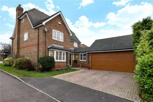 5 Bedrooms Detached House for sale in Gloucestershire Lea, Warfield