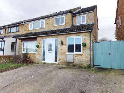 4 Bedrooms Semi Detached House for sale in Forfar Drive, Milton Keynes