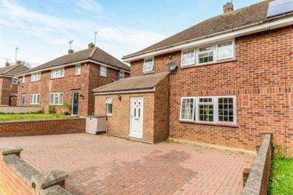 4 Bedrooms Semi Detached House for sale in Whiteley Crescent, Bletchley, Milton Keynes, Buckinghamshire