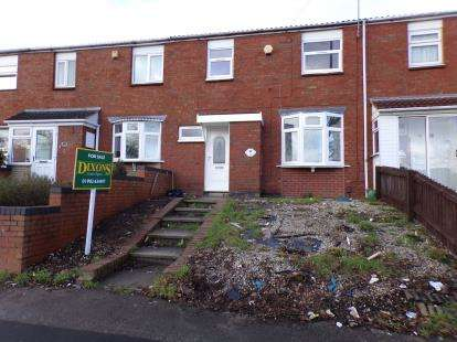 3 Bedrooms Terraced House for sale in Stroud Avenue, Willenhall, West Midlands
