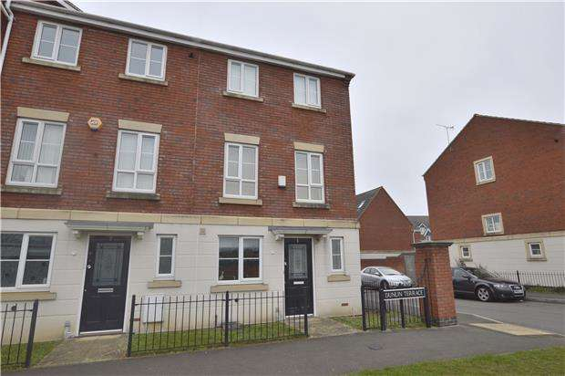 4 Bedrooms Town House for sale in Dunlin Terrace, Pilgrove Way, CHELTENHAM, GL51 0FE