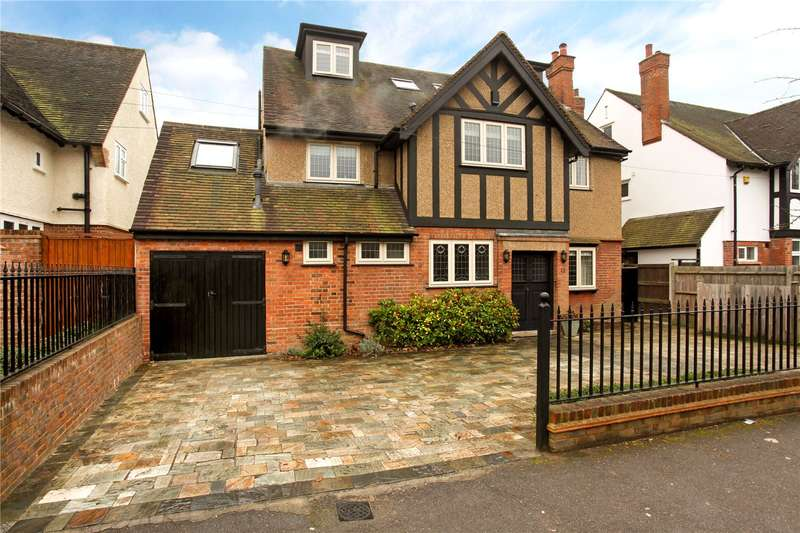 6 Bedrooms Detached House for sale in Cassiobury Park Avenue, Watford, Hertfordshire, WD18