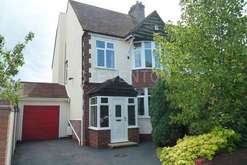3 Bedrooms Semi Detached House for sale in York Avenue, Finchfield, Wolverhampton, WV3