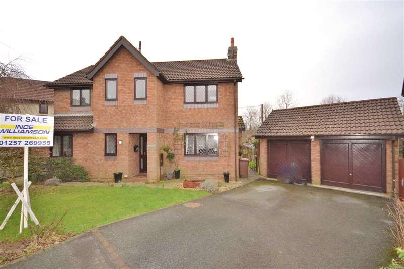 4 Bedrooms Detached House for sale in Oakmere, Brindle, Chorley