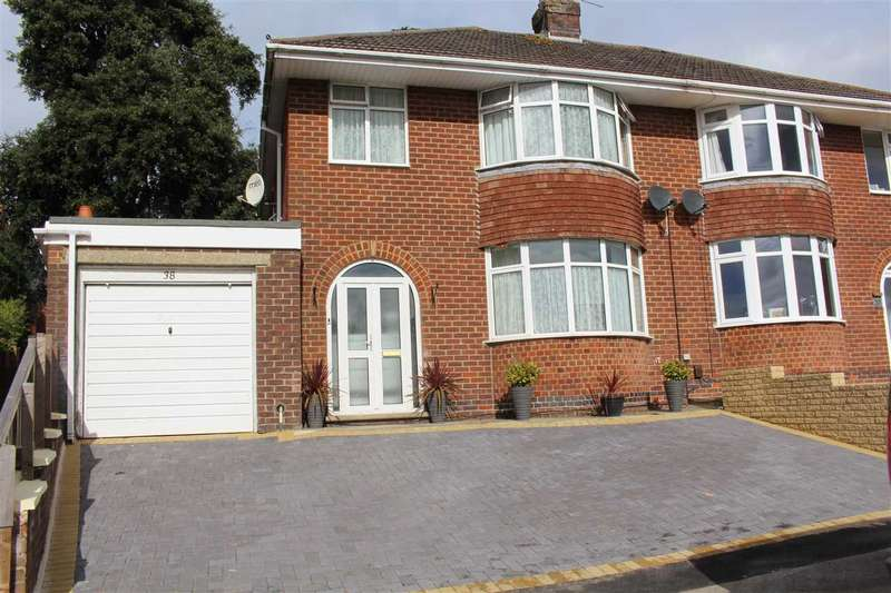 3 Bedrooms Semi Detached House for sale in Hesketh Crescent, Swindon