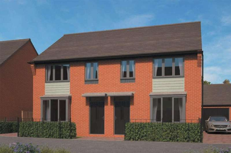 3 Bedrooms Semi Detached House for sale in The Archford Eastfields, Lawley Village, Telford, TF3