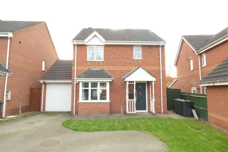3 Bedrooms Detached House for sale in Northbourne Drive, Maple Park, Nuneaton, CV11