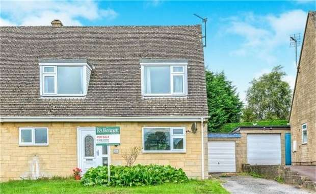 3 Bedrooms Semi Detached House for sale in Maugersbury Park, Stow on the Wold, Cheltenham, Gloucestershire
