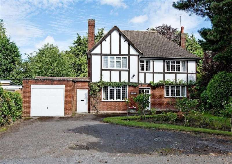 4 Bedrooms Detached House for sale in Tudor Villa, Finchfield Gardens, Finchfield, Wolverhampton, West Midlands, WV3