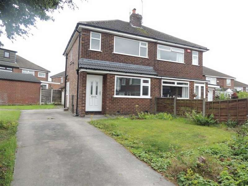 2 Bedrooms Semi Detached House for sale in Radnor Avenue, Denton, Manchester