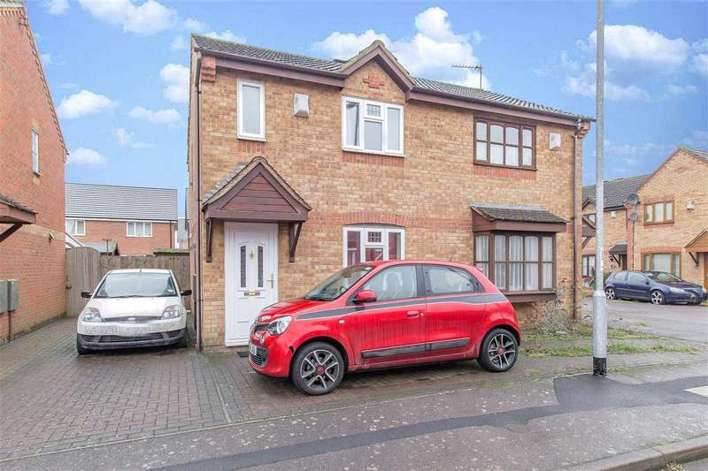 2 Bedrooms Semi Detached House for sale in Sycamore Close, Kettering