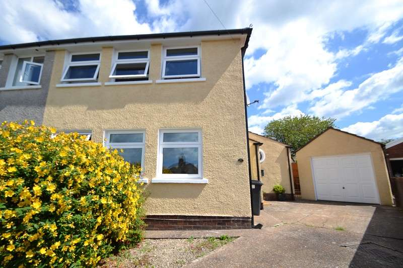 3 Bedrooms Semi Detached House for sale in Cornfield Close, Llanishen, Cardiff. CF14 5HS