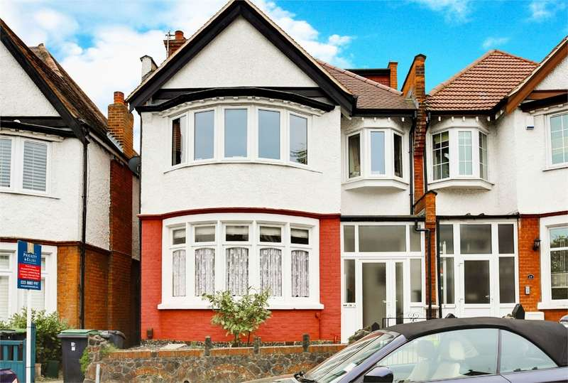 4 Bedrooms Flat for sale in Woodberry Crescent, Muswell Hill, London