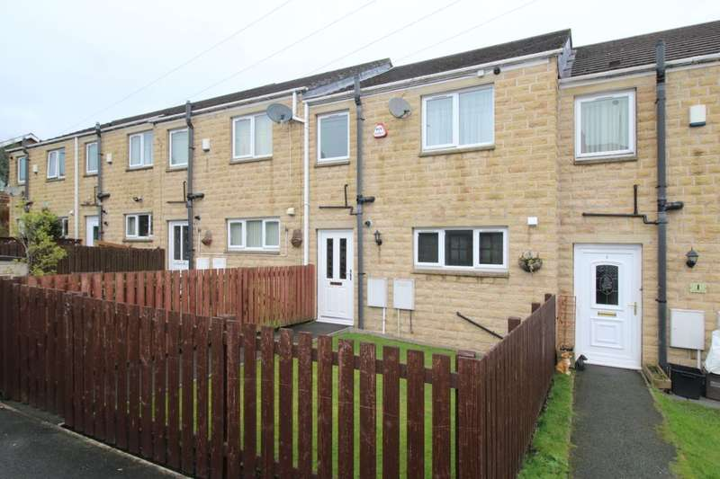 3 Bedrooms Terraced House for sale in Aislaby Heights, Halifax, HX2