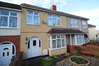3 Bedrooms Terraced House for sale in Tyning Road, Lower Knowle, Bristol